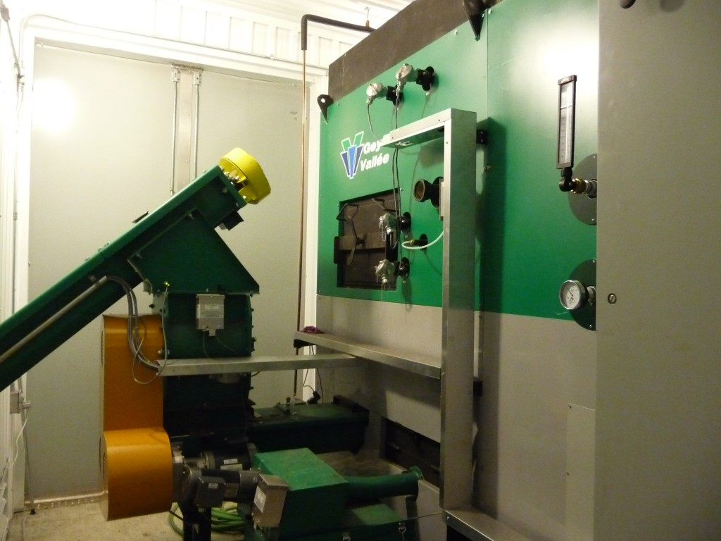 Chaudière à biomasse