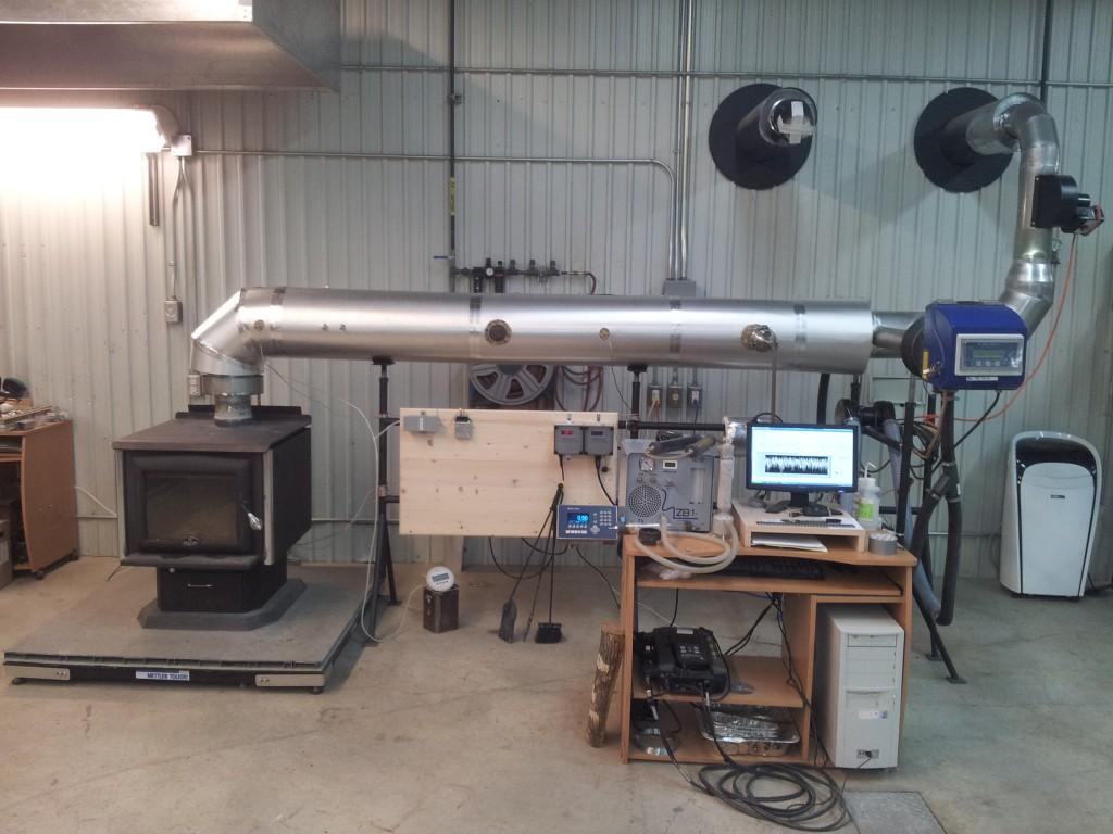 Ligne d'analyse : pour les appareils à combustion solide